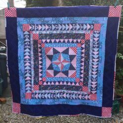 Marcelle Medallion quilt